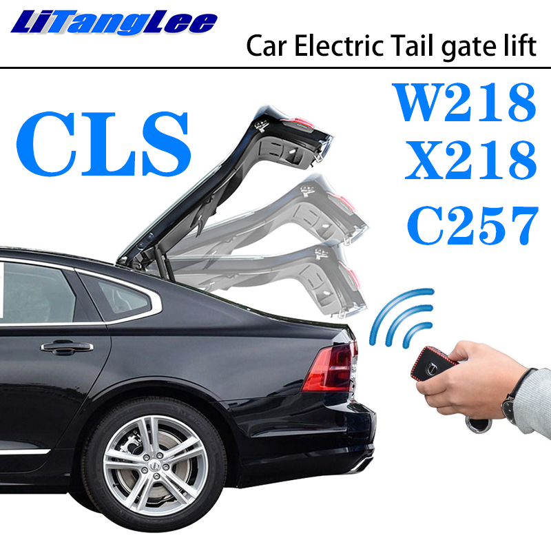 LiTangLee Car Electric Tail Gate Lift Trunk Rear Door Assist System For Mercedes Benz MB CLS Class W218 X218 C257 2010~2019