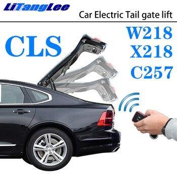 Litanglee Mobil Listrik Tail Gate Lift Bagasi Pintu Belakang Membantu Sistem untuk Mercedes Benz MB CLS Kelas W218 X218 C257 2010 ~ 2019