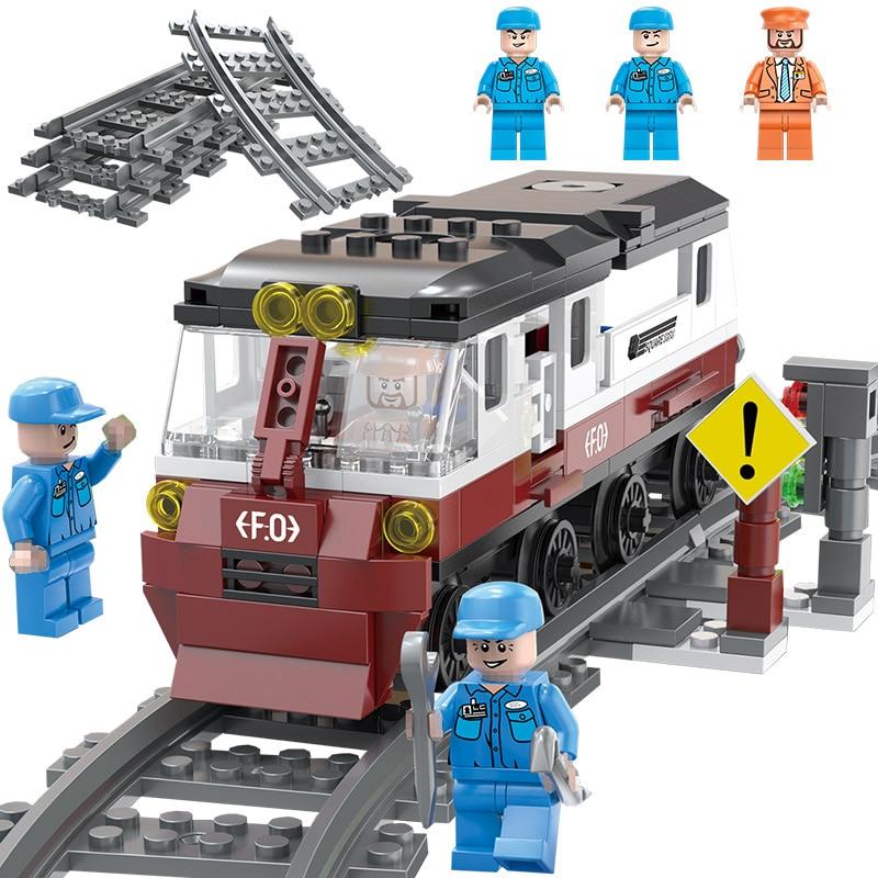 Comprar Estação De Trem Brinquedo Para Crianças Tijolos