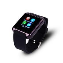 Heißer Verkauf U8 Bluetooth Smart Watch Armbanduhr Digitale-uhr Tragbare Geräte Smartwatch Für IOS Android Phone Sync Anruf Nachricht