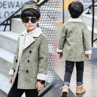 BanKu Winter fashion Children's clothing Boy cotton coat stitching