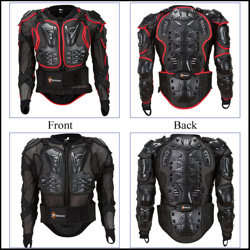 Motorcycle Jacket Riding Protection Armor Motorbike Motocross Equipment Racing Body Armor Moto Ptotective Gears Combination(China)