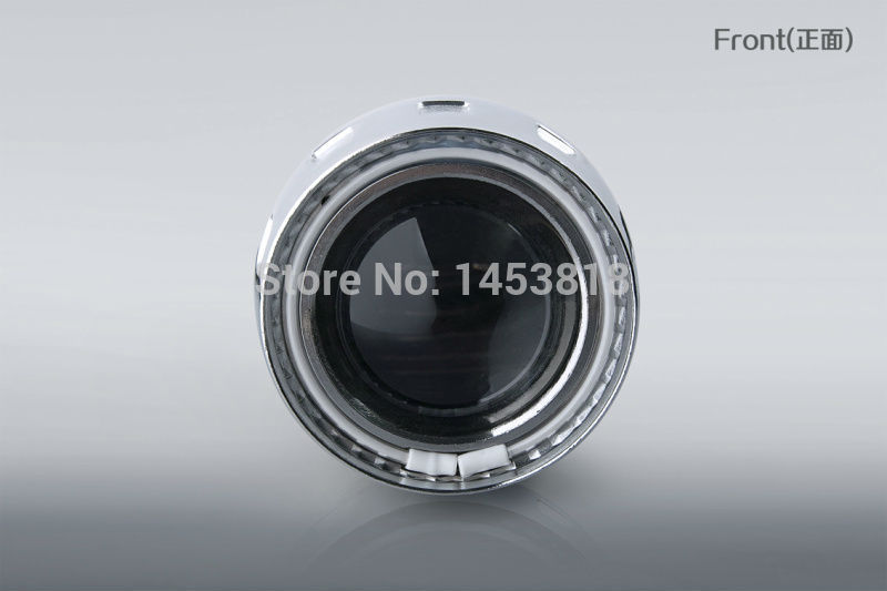 2GA Aluminium Alloy Cover 35w 2.5'' H1 H7 H4 Bi HID Projector Lens Headlight 4300k 6000k 8000k Fast Shipping hid 4300k dc h7 35w