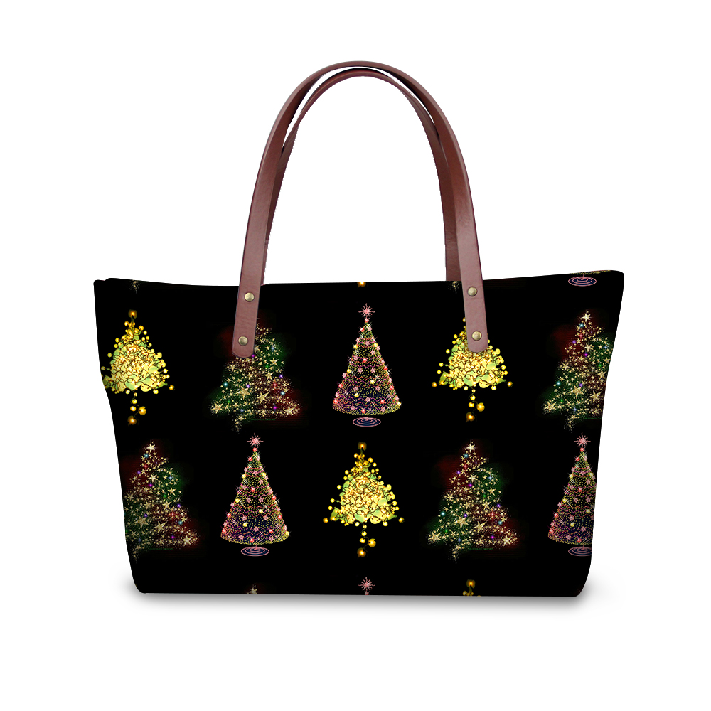 FORUDESIGNS Christmas Designer Famous Brand Luxury Women Bag Large Tote Bag Female Best Gifts Casual Tote Daily Use Shopping Bag