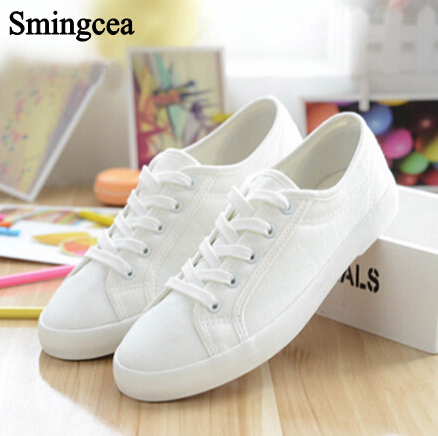 Summer White Canvas Shoes Woman Fashion Flats shoes Breathable students dance shoes lace up casual single shoe Pregnant men 2017 spring summer fashion shoes lace up low breathable male flats casual shoes students loafers white khaki shoe hot sale