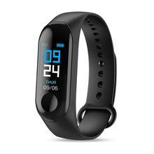 CUJMH Smart Bracelet Waterproof Fitness Tracker Smart wristband Blood Pressure Heart Rate Monitor PK xiaomi Band 3