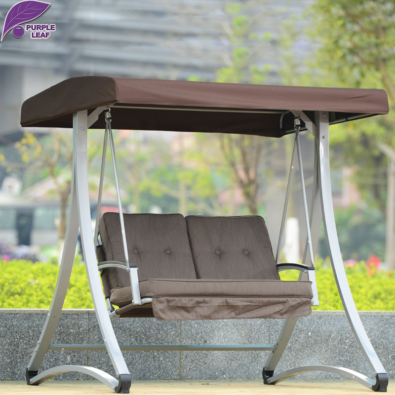 PurpleLeaf High Quality Patio Outdoor Furniture Set Garden Swing Chair With  Cushions In Patio Swings From Furniture On Aliexpress.com | Alibaba Group