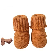 Spring lovely baby shoes boys first walkers knitted sweater baby boots girls toddler shoes 0-1 years olds baby boy shoes