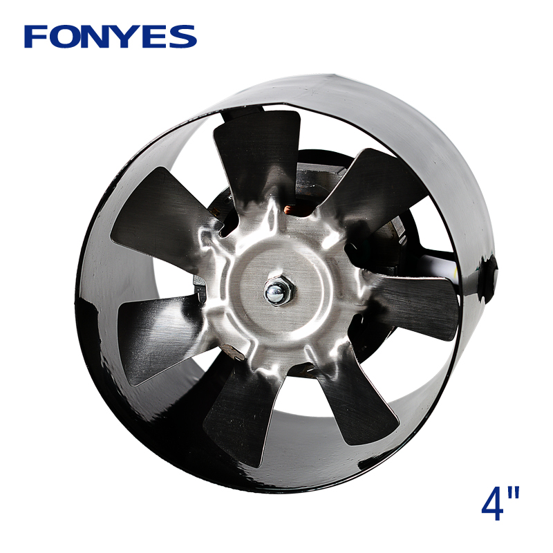 4 inch pipe ventilator inline duct fan mini ducted extractor exhaust fan ceiling ventilation 100mm 220V цена
