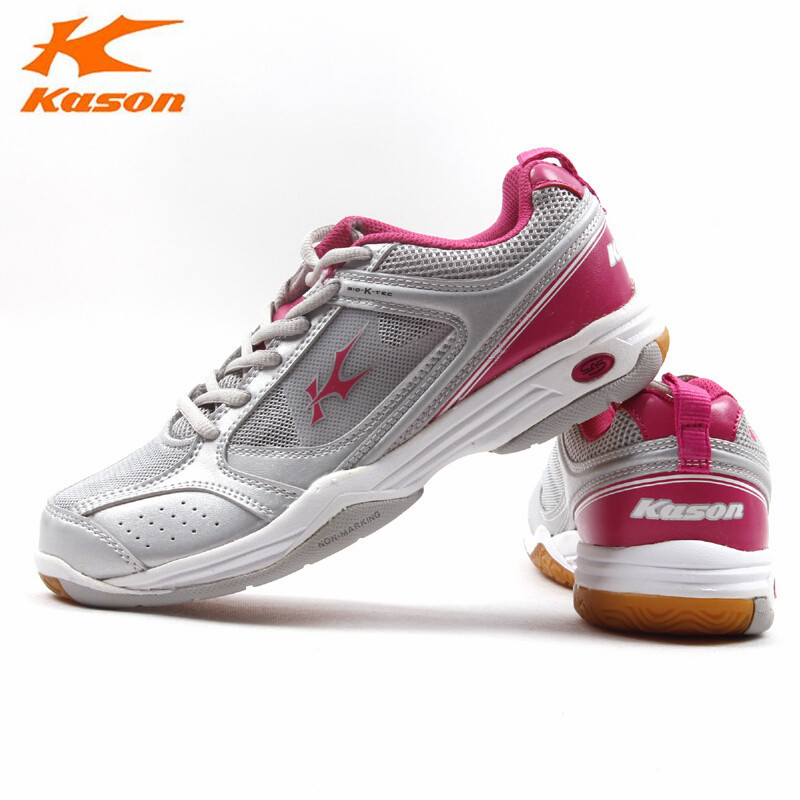 Kason Womens Badminton Shoes Light Weight Mesh Breathable Sneakers Sports Shoes Comfortable FYZH006 L735