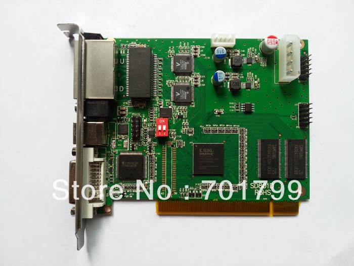 Linsn TS802D RGB full color sending card for led display