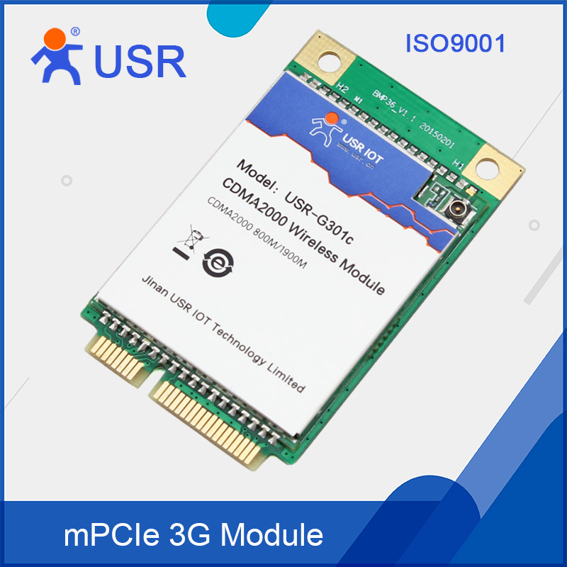 USR-G301c Cheap 3G Module UART to 3G Converter for Data Transmission 50 pcs micro usb type b female socket 180 degree 5 pin smd smt jack connector