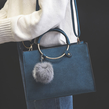 Модные Новый скраб circusy Сумка Простой девушки сумочку из нубука Повседневная сумка волосы мяч красочные H-26588