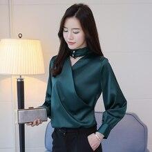 04d878e89 Top social mujer camisa estilo coreano ropa de moda blusas para mujer 2018  oficina de negocios