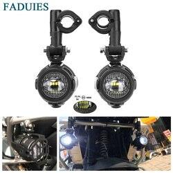 FADUIES Motorrad Nebel Lichter Für BMW Motorrad LED Hilfs Nebel Licht Fahren Lampe Für BMW R1200GS/ADV K1600 R1200GS r1100GS