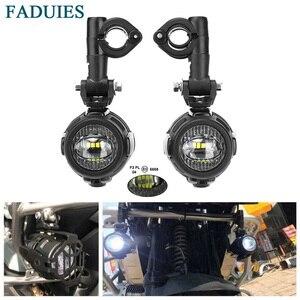 Image 1 - Faduies motocycle luzes de nevoeiro para bmw motocicleta led auxiliar nevoeiro luz condução da lâmpada para bmw r1200gs/adv k1600 r1200gs f800gs