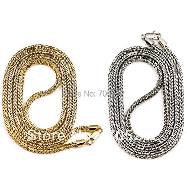 Franco Style Nový Hip Hop módní řetězový náhrdelník