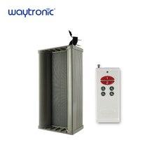 Exterior impermeable amplificador altavoz microondas Detector de alarma de advertencia con mando a distancia para incendios forestales de seguridad de prevención