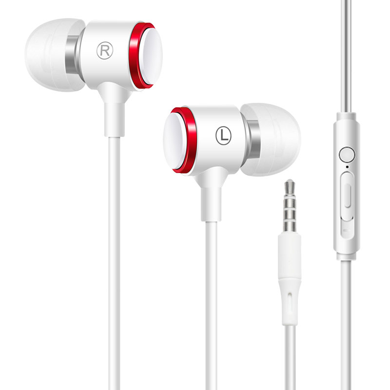 white 3.5mm with mic