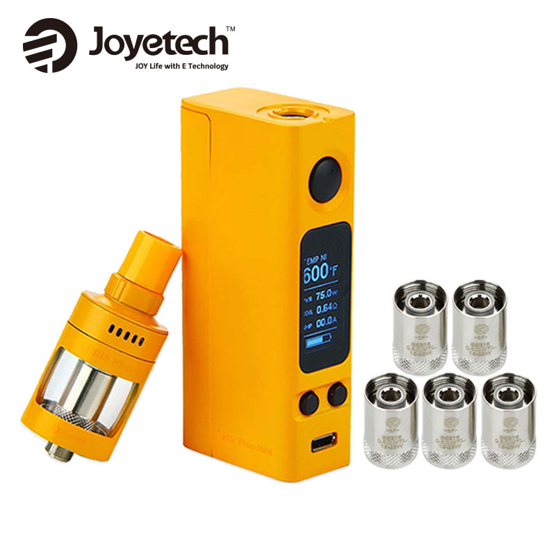 Original Joyetech EVic VTwo Mini Vape Kit 4ml Cubis Pro Atomzier Tank w/ 0.6ohm 5pcs BF Cubis Coil E Cig Kit NO 18650 Battery цена 2017
