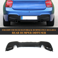 Fibra de carbono rear bumper lip difusor Para BMW Série 1 F20 M Sport Só M135i hatchback 2012 2013 2014