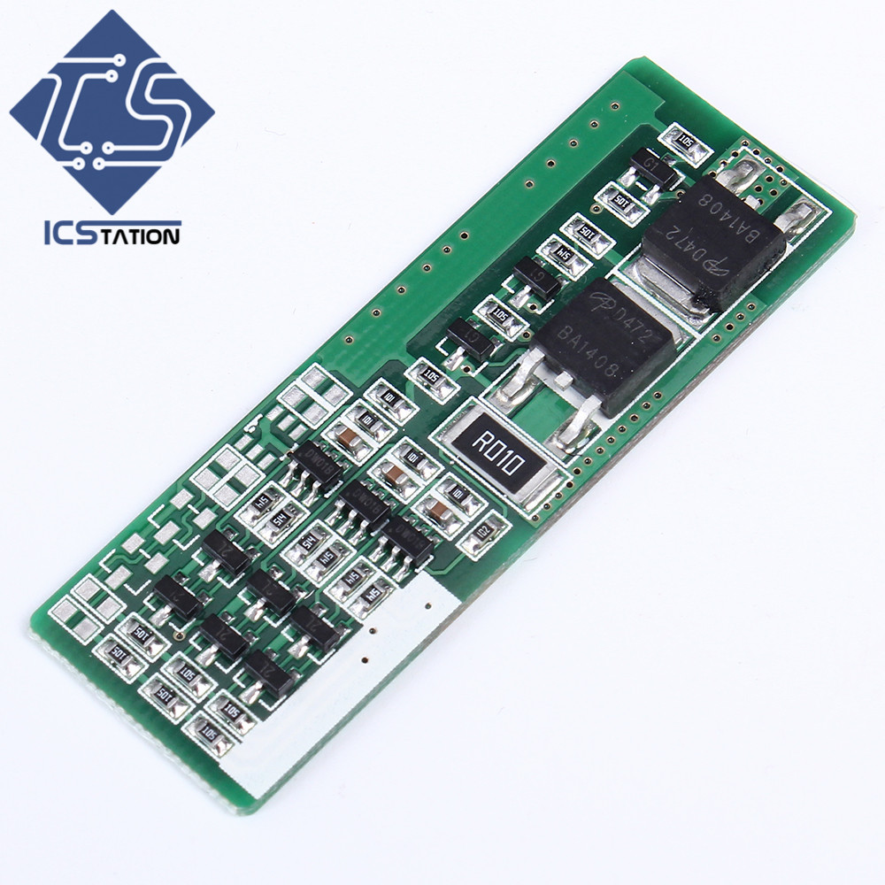 2pcs 3S 8A Li-ion Lithium Polymer Battery Charger Protection Board 3.7V 12V 3 Serial PCB Charging Protection Module