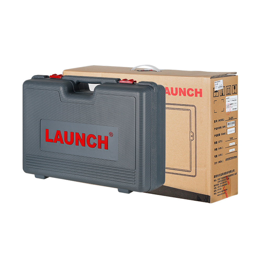Launch X431 V+ tablet & Heavy duty adapter box (7)