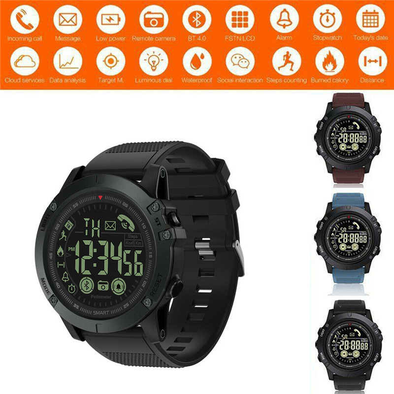 Smart Watches Outdoor 50 ATM/IP67 Waterproof Bluetooth Connection Long Standby New Android IOSSmart Watches Outdoor 50 ATM/IP67 Waterproof Bluetooth Connection Long Standby New Android IOS