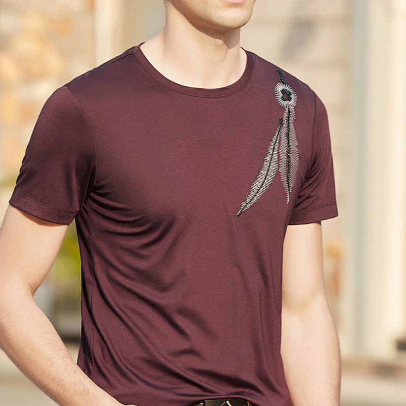 T Shir Homme Brand 2018 Camisetas Hombre Summer Clothing MensT Shirts T Shirt Men Clothes TON Casual Wear Tshirt 619101