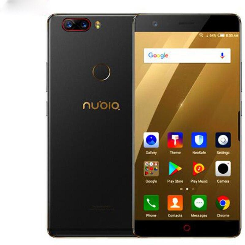 "ZTE Nubia Z17 sin bordes 6 GB/8 GB RAM 64 GB/128 GB ROM teléfono celular Android 7,1 snapdragon 835 Octa Core 5,5 ""Dual SIM 23.0MP S"