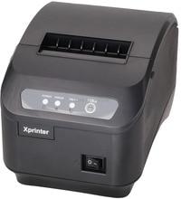 80mm impresora térmica de recibos pos impresora de Alta calidad XP-200II interfaz LAN 200 mm/s velocidad de impresión automática máquina de corte