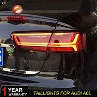 Car Styling case for Audi A6L A6 2012 2016 taillights Audi A6 Tatilights LED Tail Light LED Rear Lamp Certa taillight Automobile