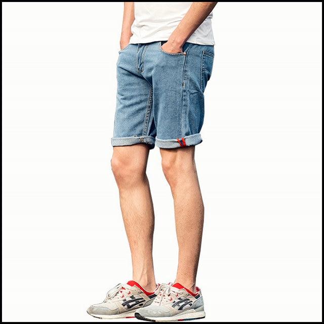 a11691f81e64a New Hot Jeans Shorts Men Fashion Mens Summer Shorts jean handwash 2 colors  size 28-36