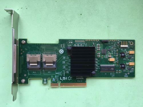 RaidStorage Avago LSI SAS 9200-8I LSISAS2008-IT Mode 8 port HBA JBOD SFF8087 Mini-SAS 6Gb PCI-E 2.0 X8 Controller Card