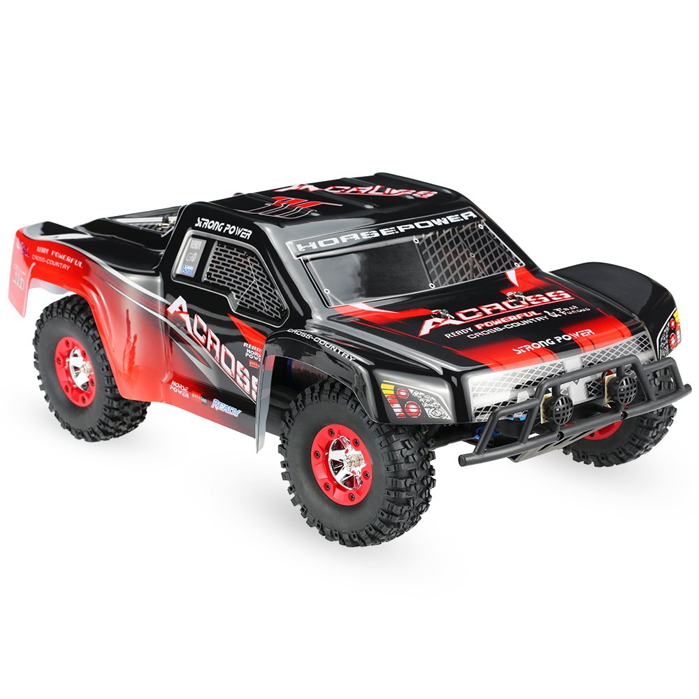 Wltoys 12423 RC Car 1 12 4WD Electric Brushed Short Course RTR Car SUV 2 4G