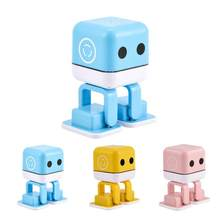 Mini Bluetooth Wireless Lovely Robot Smart Dancing Speaker HiFi Music Player Toy Gift(China)