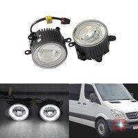 Direct Fit For Benz Sprinter 208 515 06 08 Front Led Fog Lights W Guide Angel