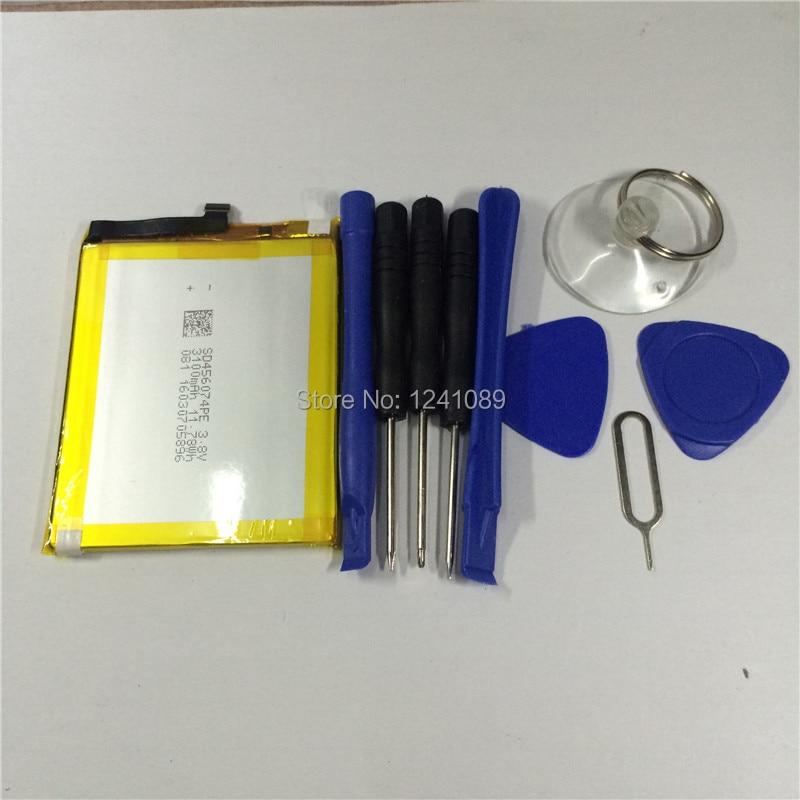 100% d'origine batterie vernee apollo/apollo lite batterie 3180 mAh 5.5 pouces MTK6797T MTK6797 + démonter outil Mobile téléphone batterie