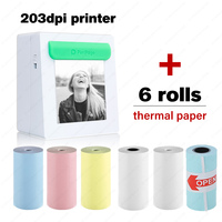 Peripage Mobile Color pocket Photo Printers Wireless Inkless Bluetooth Impressora de Foto for Home Use and Gifts Picture Printer