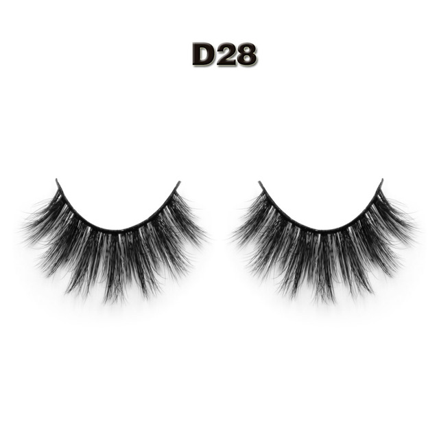 Worldbeauty Free shipping and tweezer New D28 3D silk fiber eyelashes 100% handmade synthetic 3d silk lashes extension