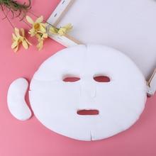 100 шт DIY хлопковая маска для лица лист бумаги мягкий дышащий нетоксичный уход за кожей