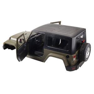 1:10 RC масштаб грузовик скалолазания автомобиль Жесткий Корпус для Wrangler Jeep 95AE