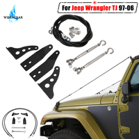 For Jeep Wrangler TJ 1997 2006 Car Limb Riser Kit Scratch Resistant Eliminate Rope Through The Jungle Protector Cover Exterior