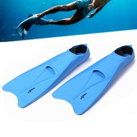 Super Soft Snorkeling Long Blade Enclosed Heel Swimming Fins Long Flippers Portable Comfortable Diving Training Equipment
