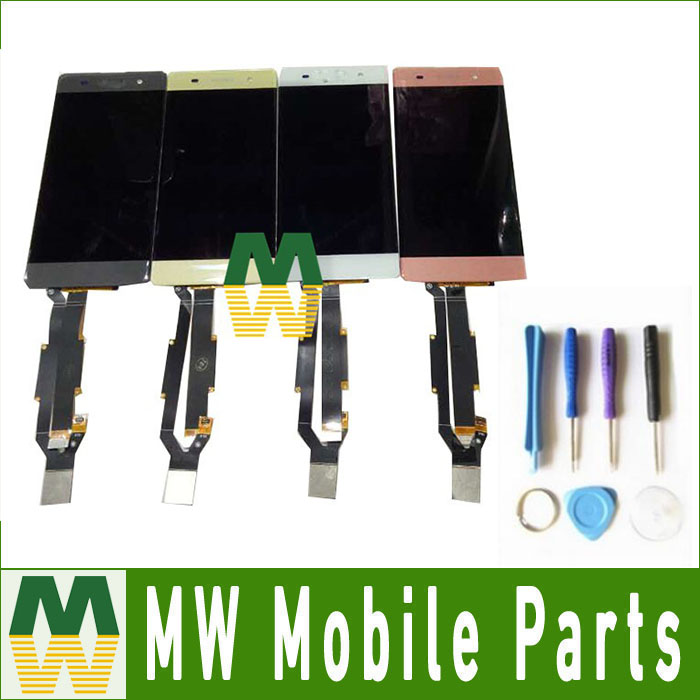 1 PC /Lot High Quality For Sony Xperia XA F3111 F3113 F3115 Black White Green Pink Color LCD Display +Touch Screen +Tools