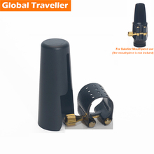 Soft bakelite Sax mouthpiece Ligature Clip Saxophone Mouthpiece Ligature for Alto(Eb)/ Tenor (Bb)/ Soprano(Bb) Sax Saxophone selmer soprano b flat bb sax metal mouthpiece 7 size for saxophone beginner gold plated saxe
