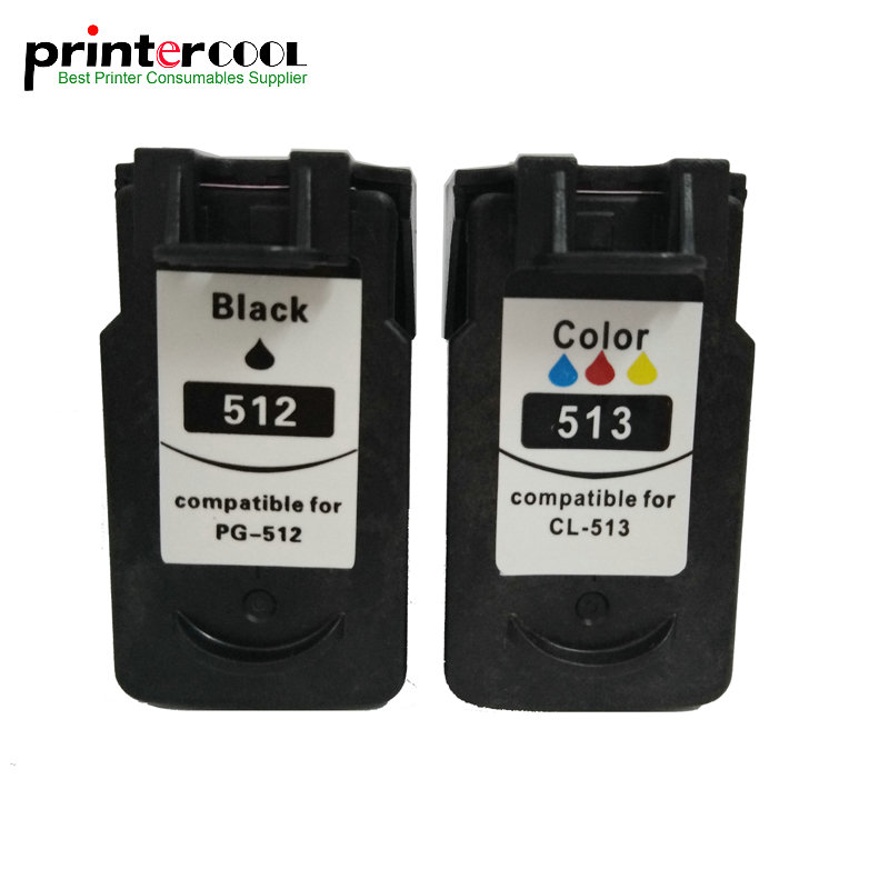 PG 512 CL 513 Ink Cartridge Replacement for Canon pg512 cl513 PG-512 CL-513 MP240 MP250 MP270 MP230 <font><b>MP48</b></font> MX350 IP2700 printer image