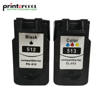 PG 512 CL 513 Ink Cartridge Replacement for Canon pg512 cl513 PG-512 CL-513 MP240 MP250 MP270 MP230 MP48 MX350 IP2700 printer