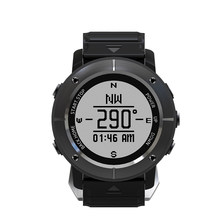 UW80C E-ink Display GPS Smart Watch Heart Rate Waterproof Multi Sport Mode Compass GPS Return Cruise SOS WristWatch Golf Ride(China)