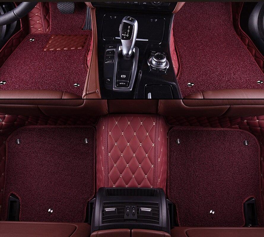 Kalaisike пользовательские автомобильные коврики для Acura все модели MDX RDX ZDX RL TL ILX CDX TLX L Авто укладки автомобильные аксессуары